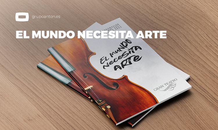 El mundo necesita arte