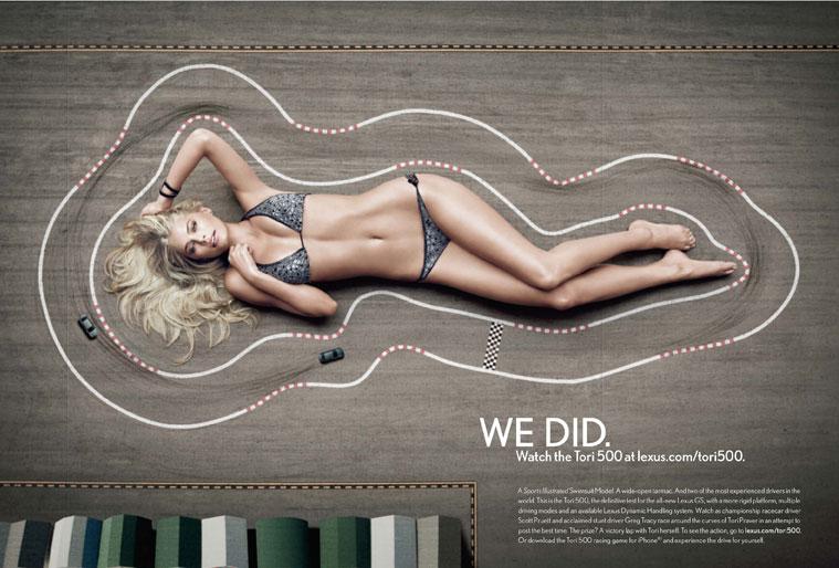 Experiencias Marca Lexus campaña