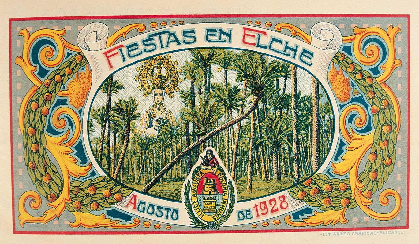 Fiestas de agosto en Elche (1928)