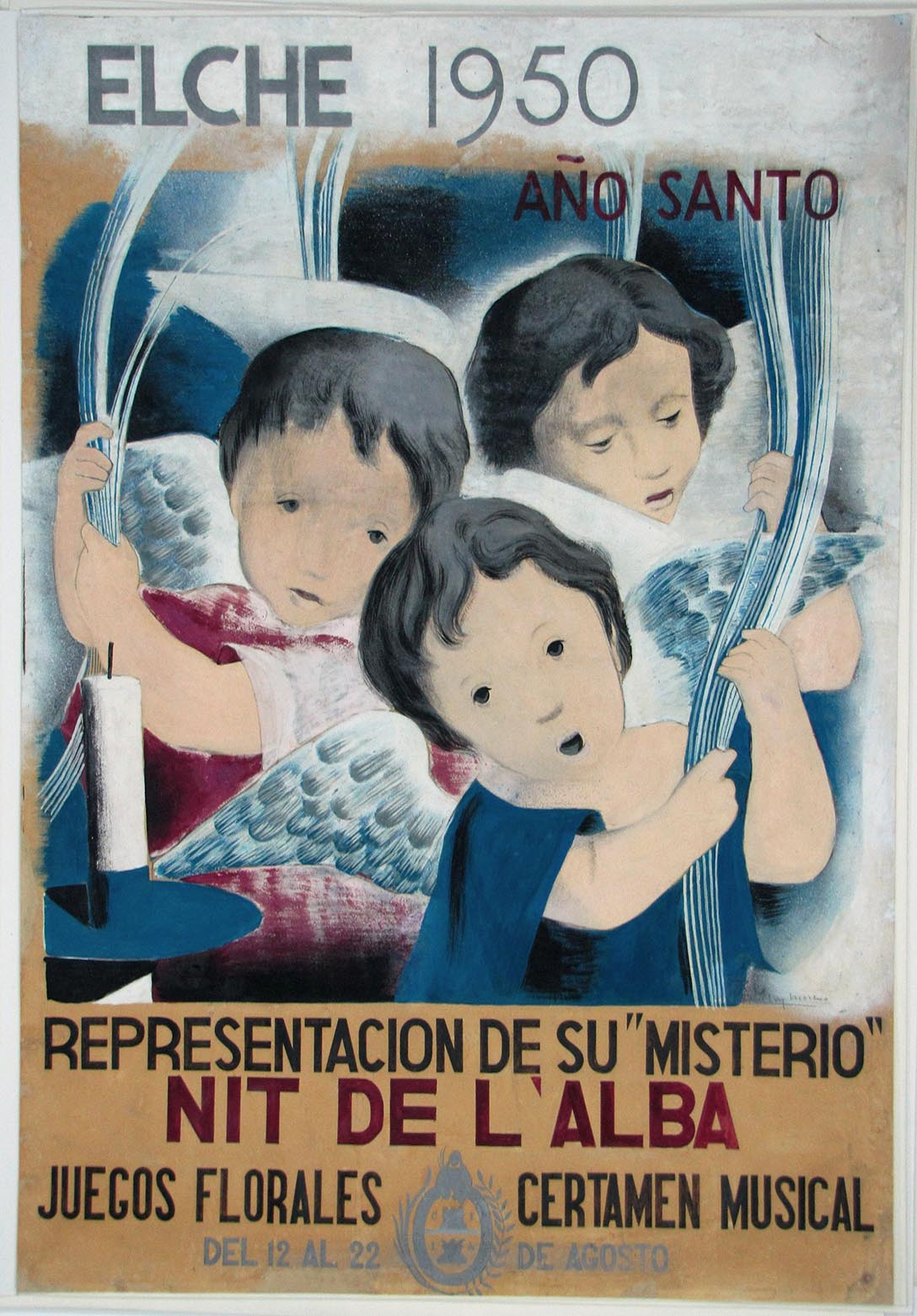 Cartel del Misteri 1950