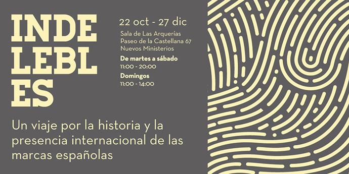 Cartel Exposición Indelebles