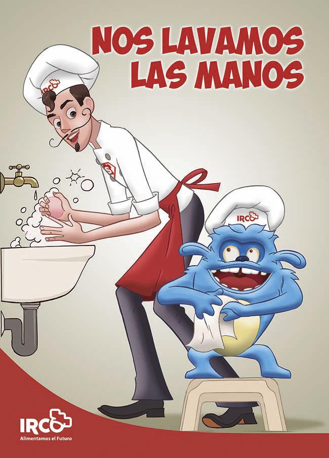 irco lavarse las manos