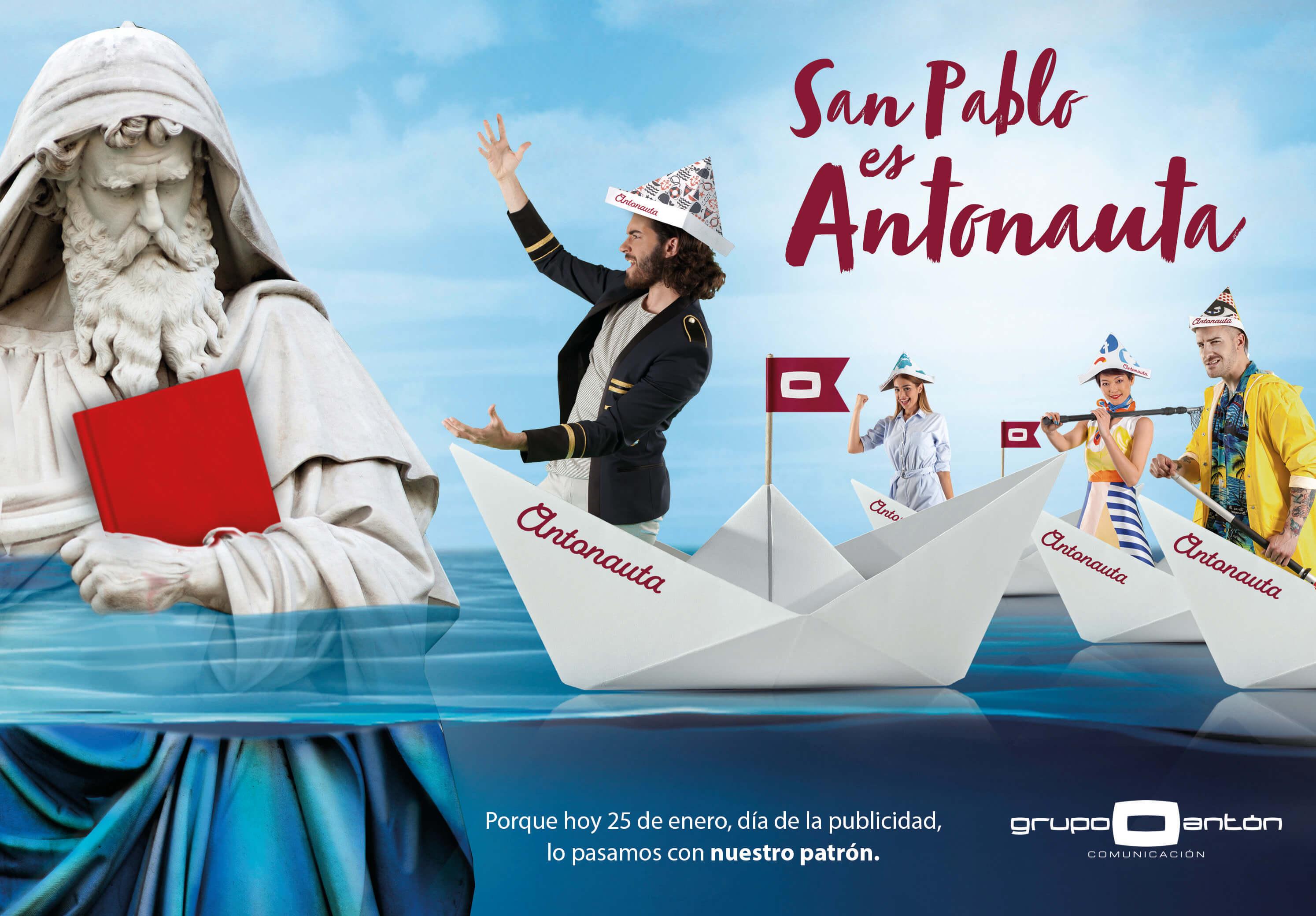 San Pablo es Antonauta