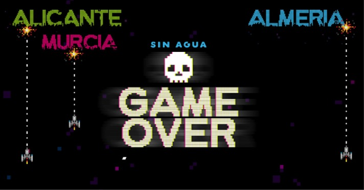 sin agua game over